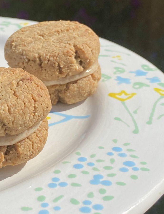 Vegan & gluten free yoyo biscuits